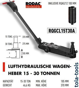 Rodac Jacklift and Tools
